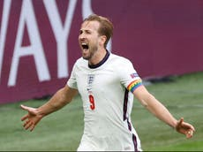 Harry Kane goal: Watch captain seals England's victory against Germany at Euro 2020