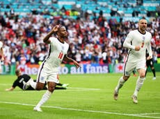 Raheem Sterling goal: Watch England take lead against Germany at Euro 2020