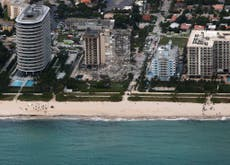 Energy secretary suggests climate crisis may have played a role in Miami condo collapse