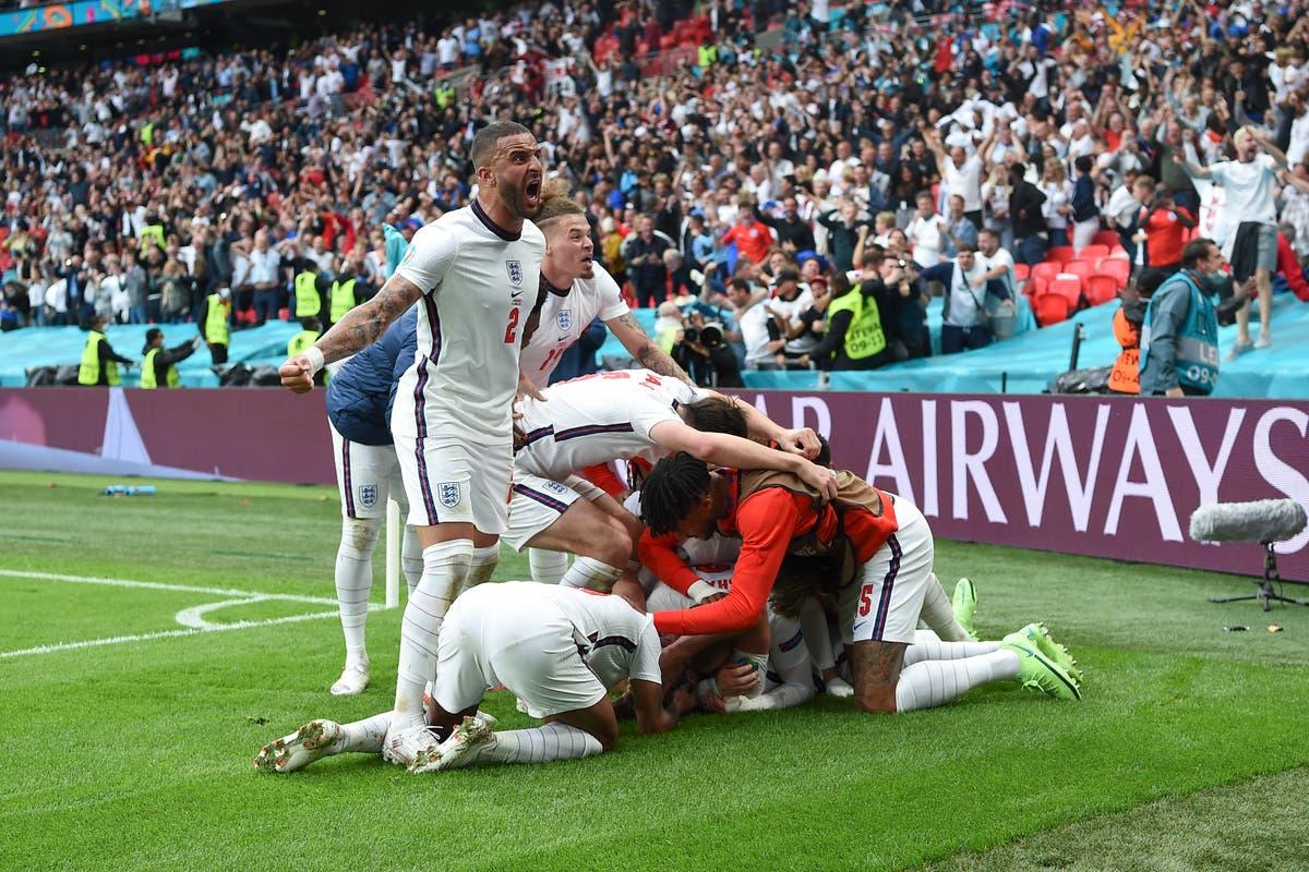 England beat Germany to reach Euro 2020 quarter-finals