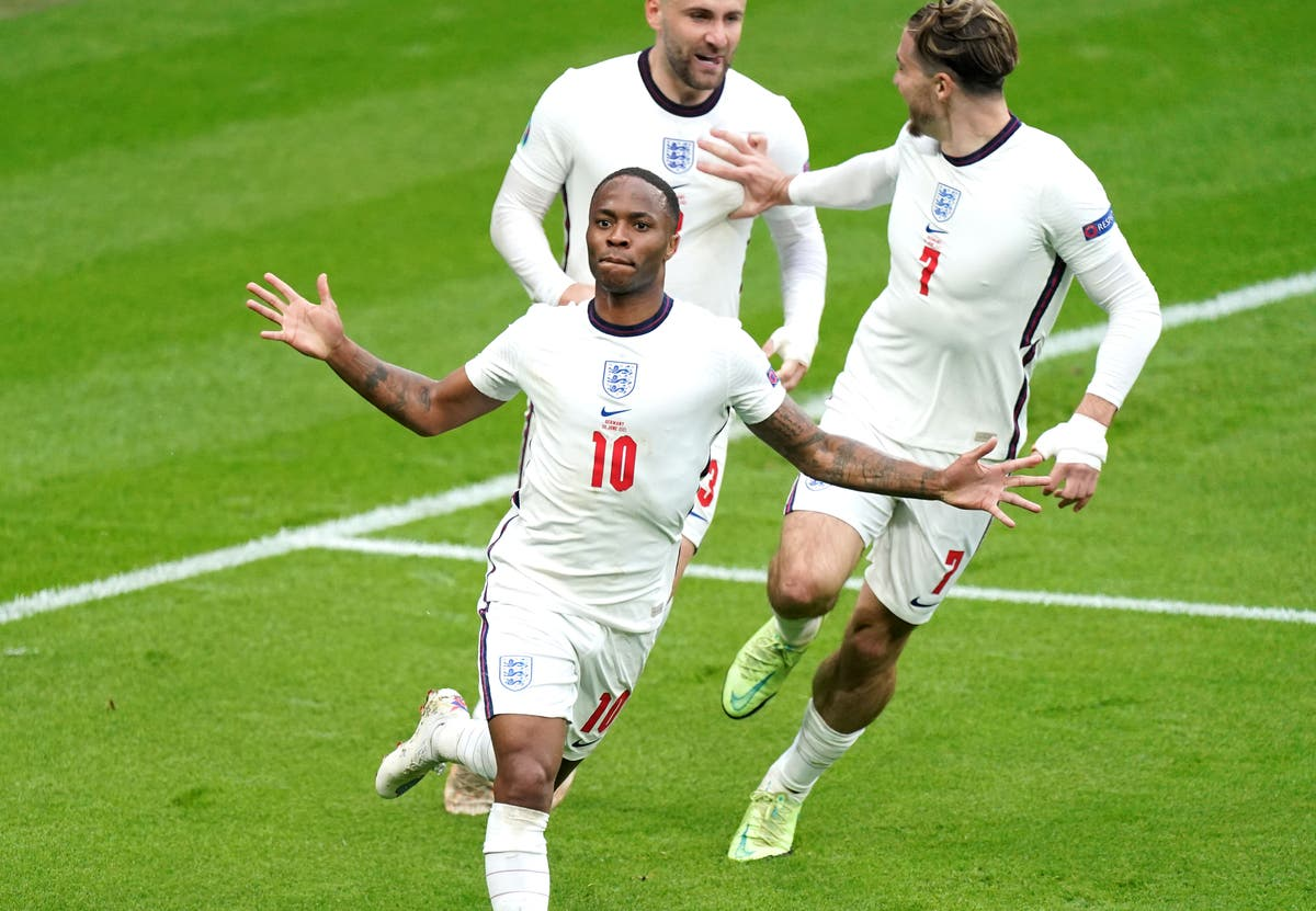 It's definitely a special moment – Raheem Sterling relishes victory over Germany