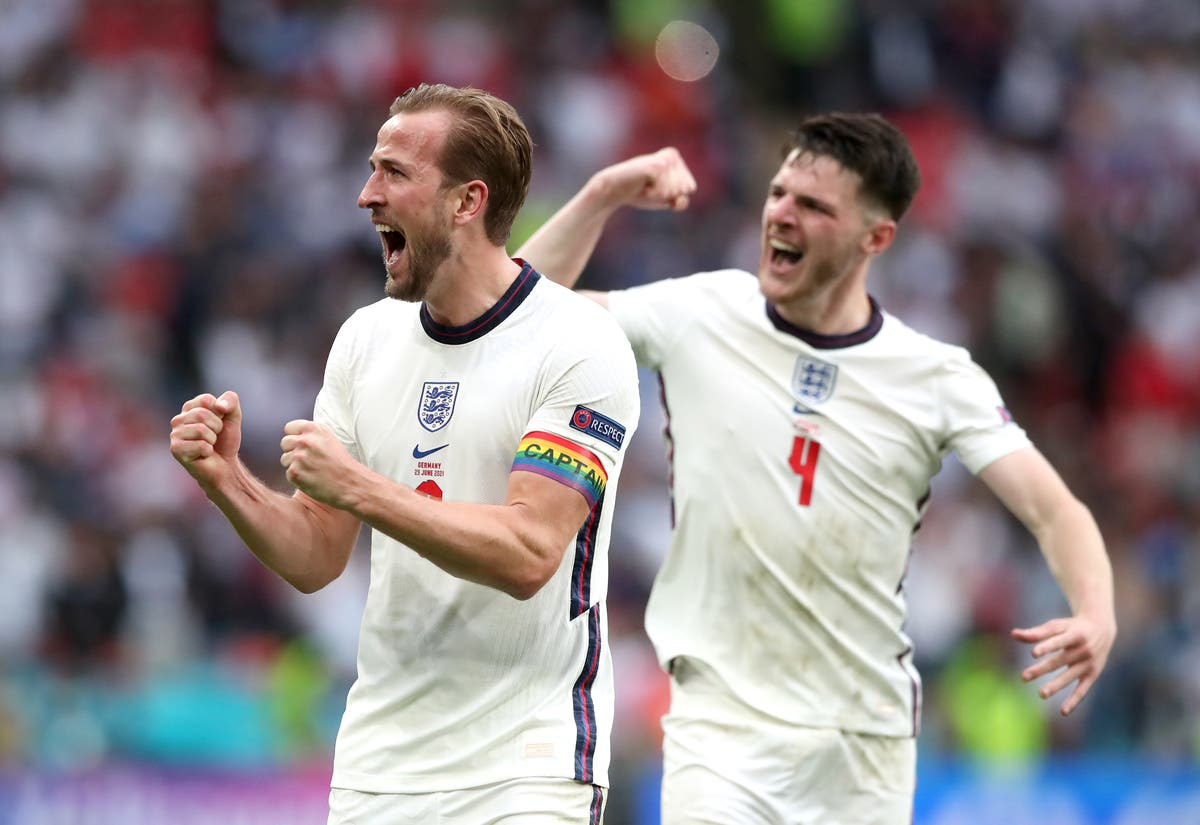 Declan Rice insists England have created a 'piece of history'