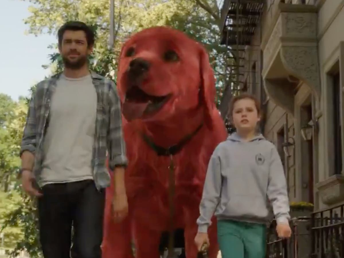 Fans have mixed reactions to new Clifford the Big Red Dog trailer