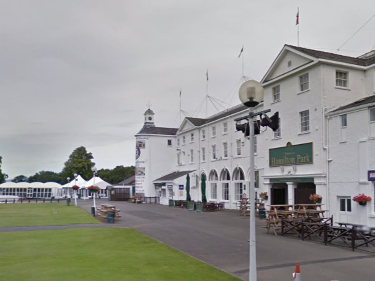Camera operators injured after falling from cherry-picker at racecourse