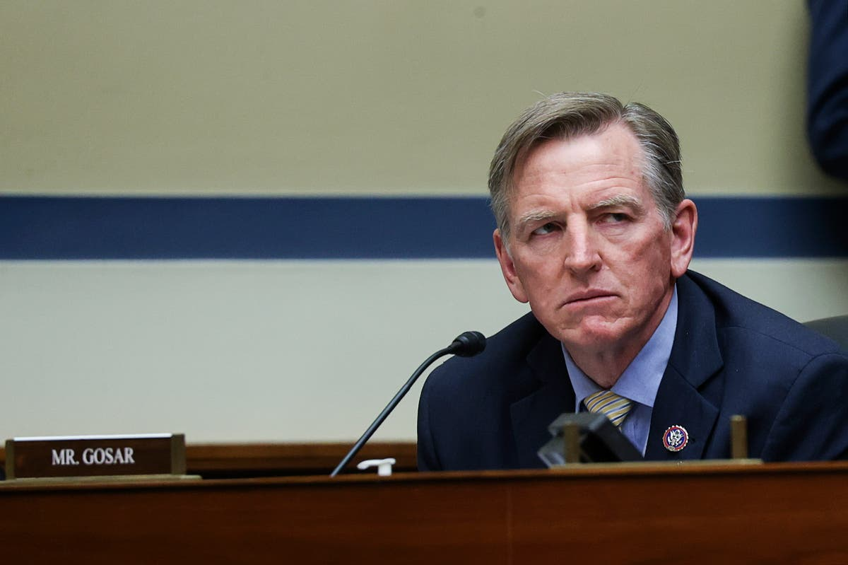 Republican congressman Paul Gosar appears to defend planning another event with white nationalist