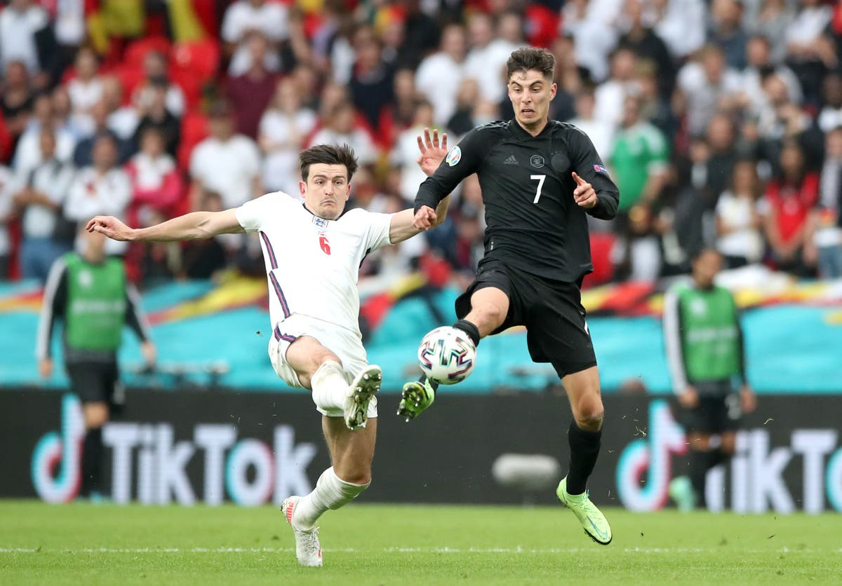 Harry Maguire enjoys helping England fans smile again with win over Germany