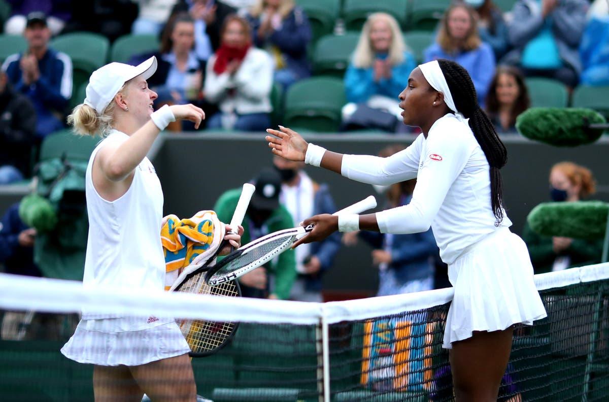 Coco Gauff predicts bright future for Francesca Jones after beating Briton