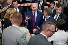 AP FACT CHECK: Biden distorts bipartisan infrastructure deal