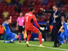 Sverige vs Ukraina LIVE: Euro 2020 result and reaction as England learn opponents
