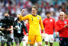 Jordan Pickford turns attention to quarter-final tie after England beat Germany