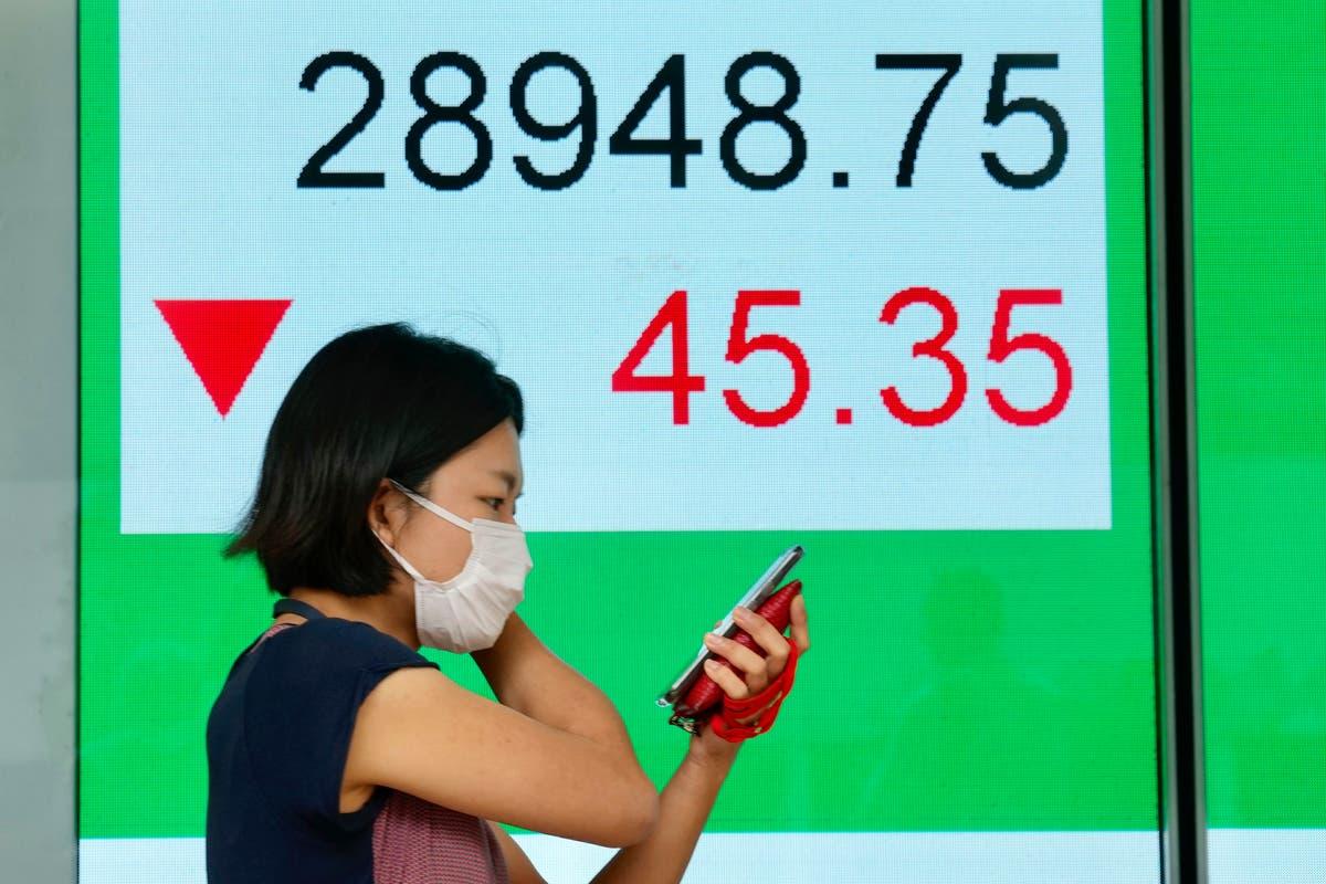 Asian shares advance despite weaker factory data, outbreaks