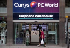 Currys PC World sees online sales double during pandemic