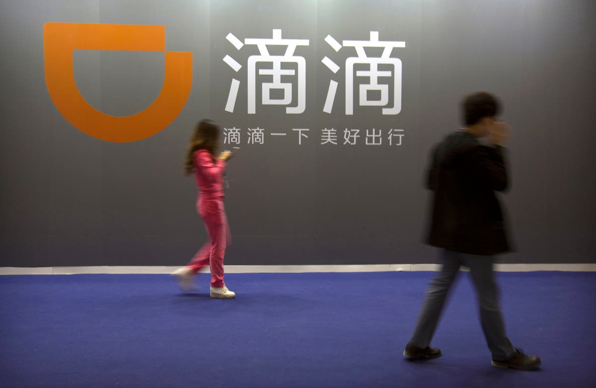 China's Didi touts tech spending ahead of Wall St debut