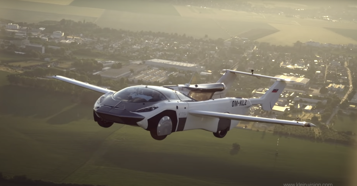 AirCar: Prototype flying car with BMW engine completes inter-city flight