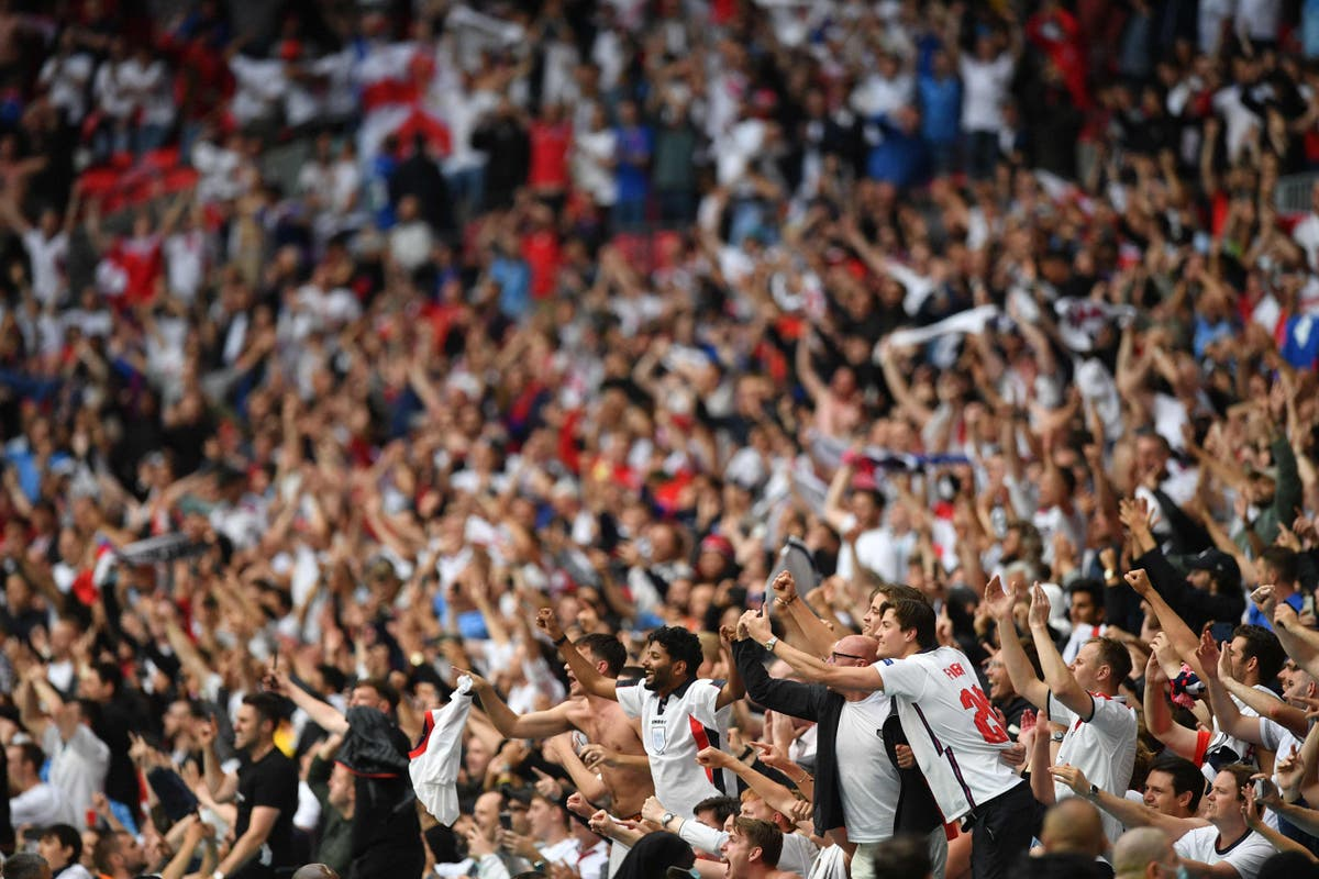 The euphoria of watching England beat Germany at Wembley