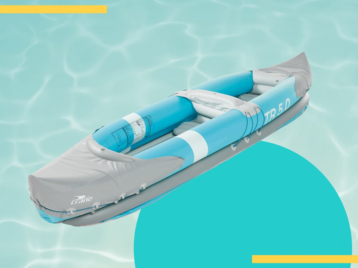 Aldi's sellout inflatable kayak is making a comeback – and it's only £40