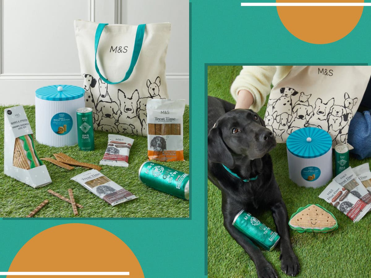 You need to see M&S's new hamper for your dog – it includes a G&T for you