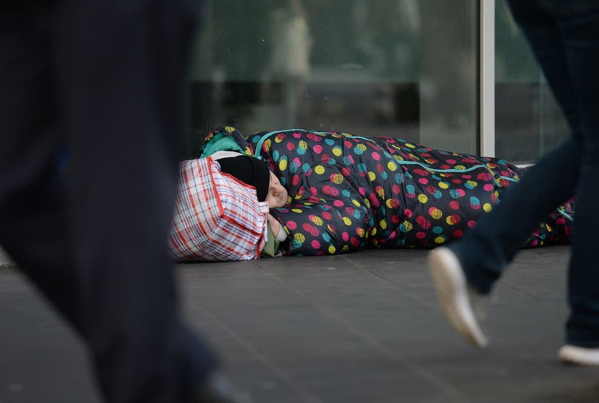 Rough sleeping rises in London despite commitment to house people during pandemic, figures show