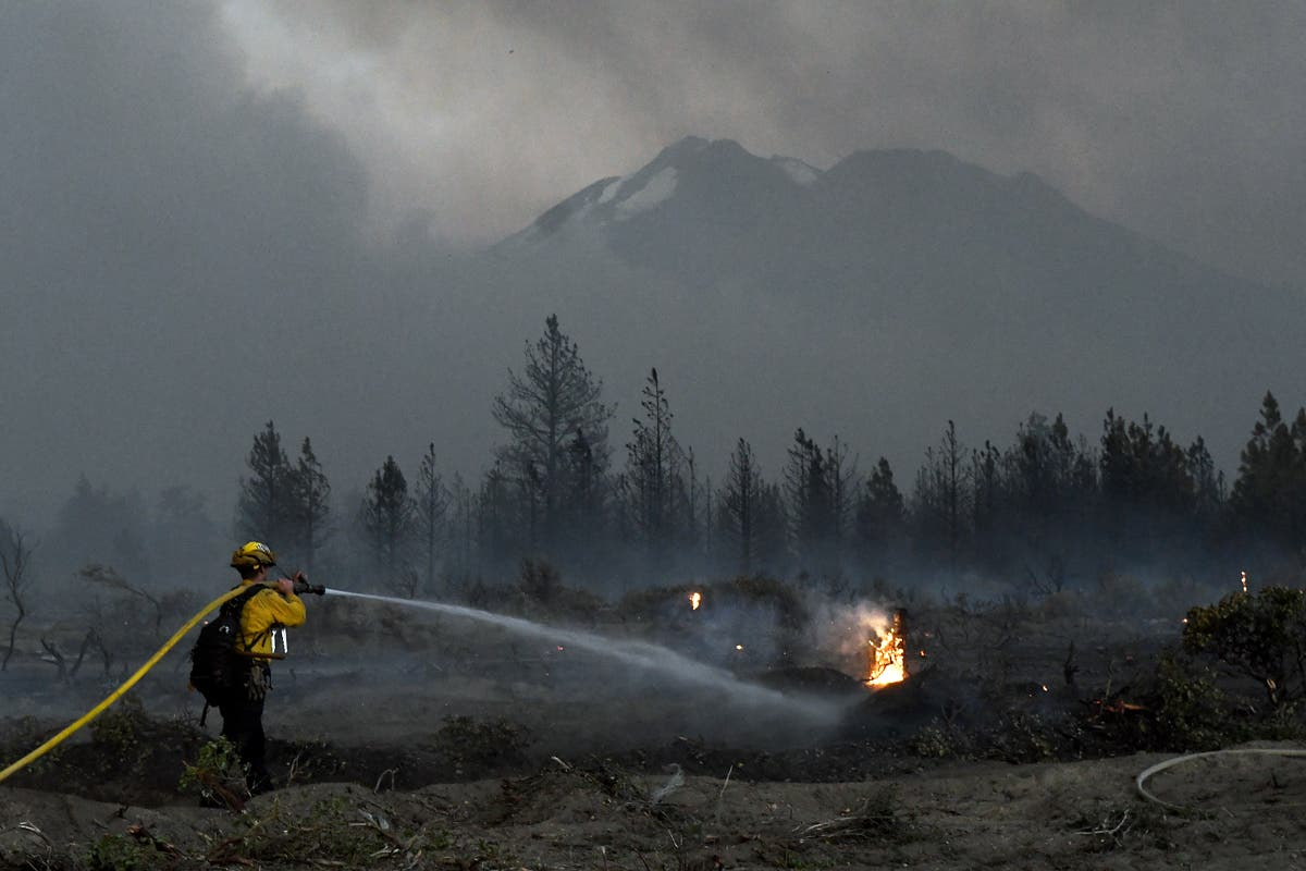 As wildfires rage, Biden will raise federal firefighter pay
