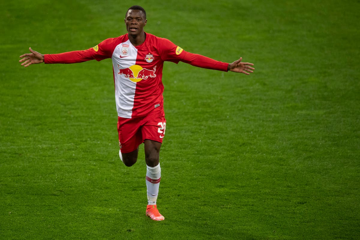 Leicester sign prolific RB Salzburg striker Patson Daka