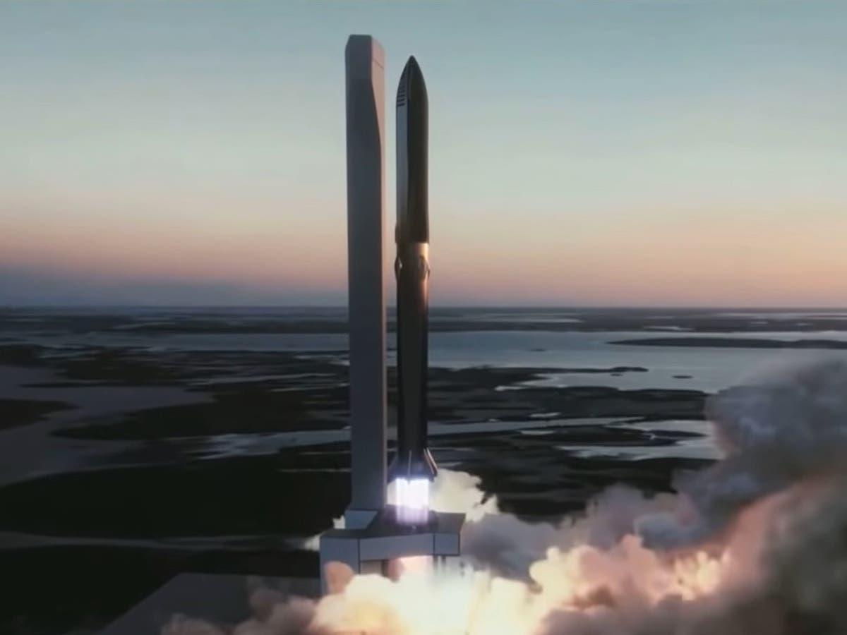 Elon Musk reveals 'aggressive' Starship launch schedule