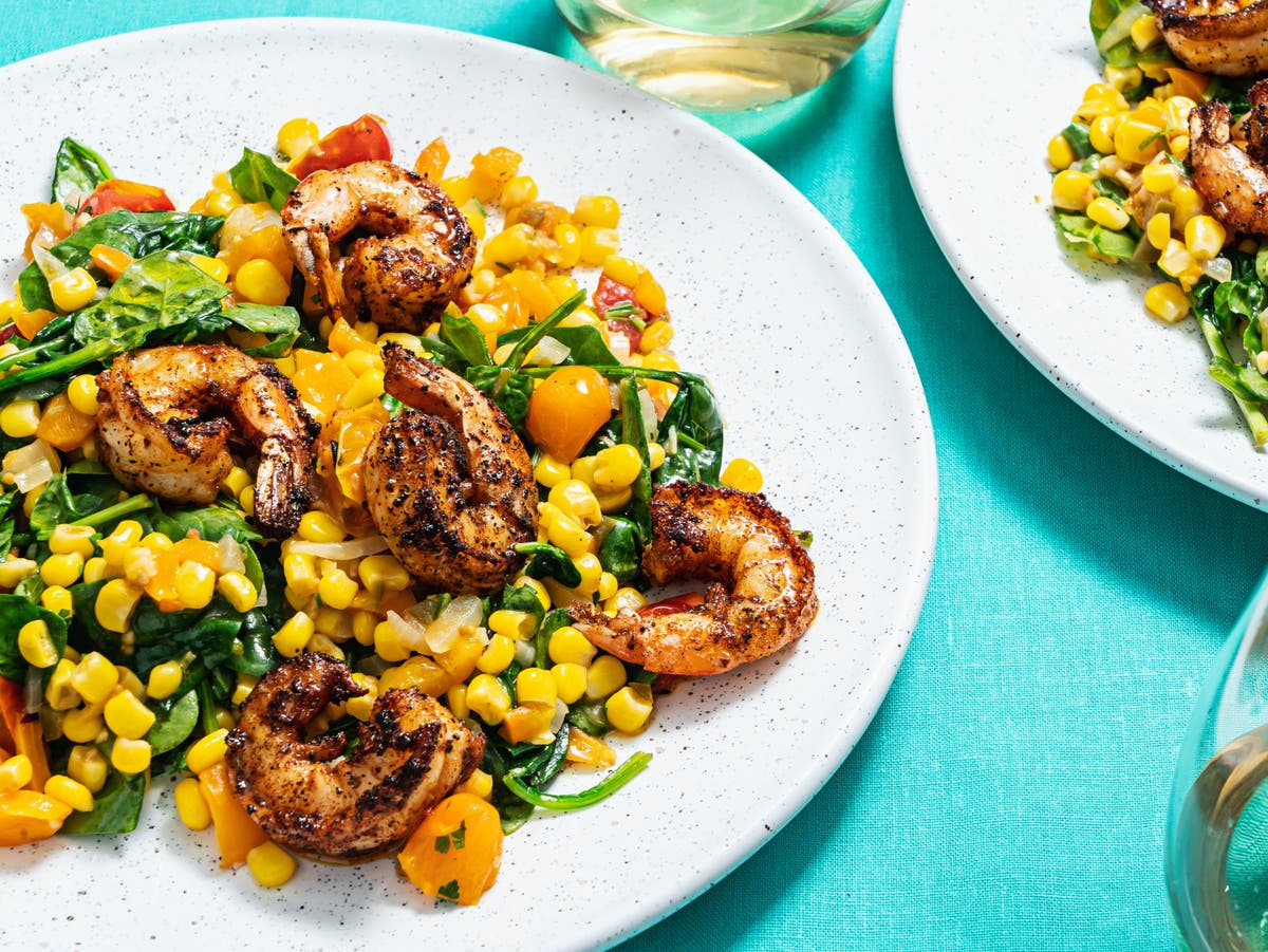 Need an inspiring summer weeknight dinner? Start with some colour