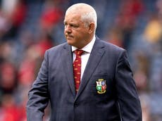 Warren Gatland likely to mix up selection for Lions tour opener