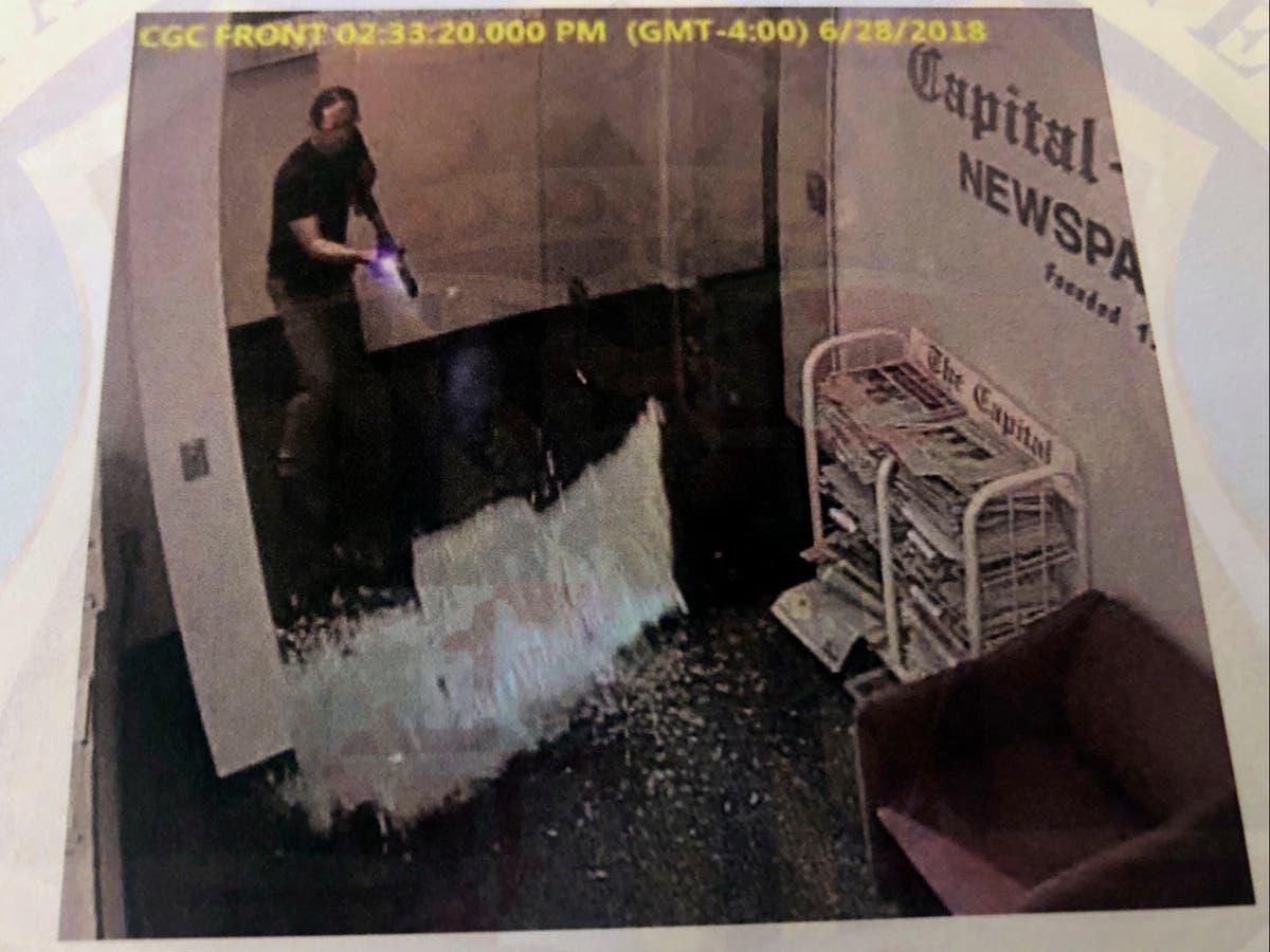Chilling new photos emerge of Capital Gazette mass shooting