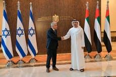 アラブ首長国連邦訪問, イスラエルの大臣はガザ戦争後に関係を築く