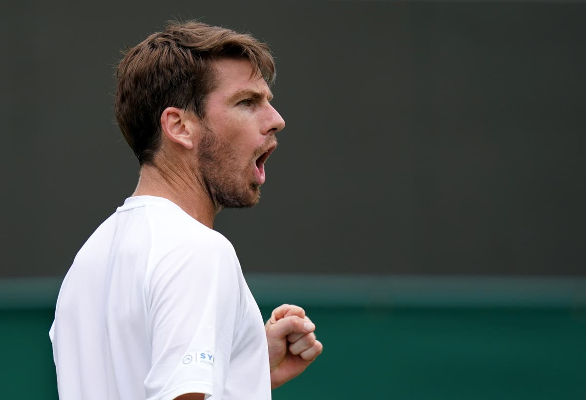 Cameron Norrie hits back to beat Lucas Pouille and reach Wimbledon second round