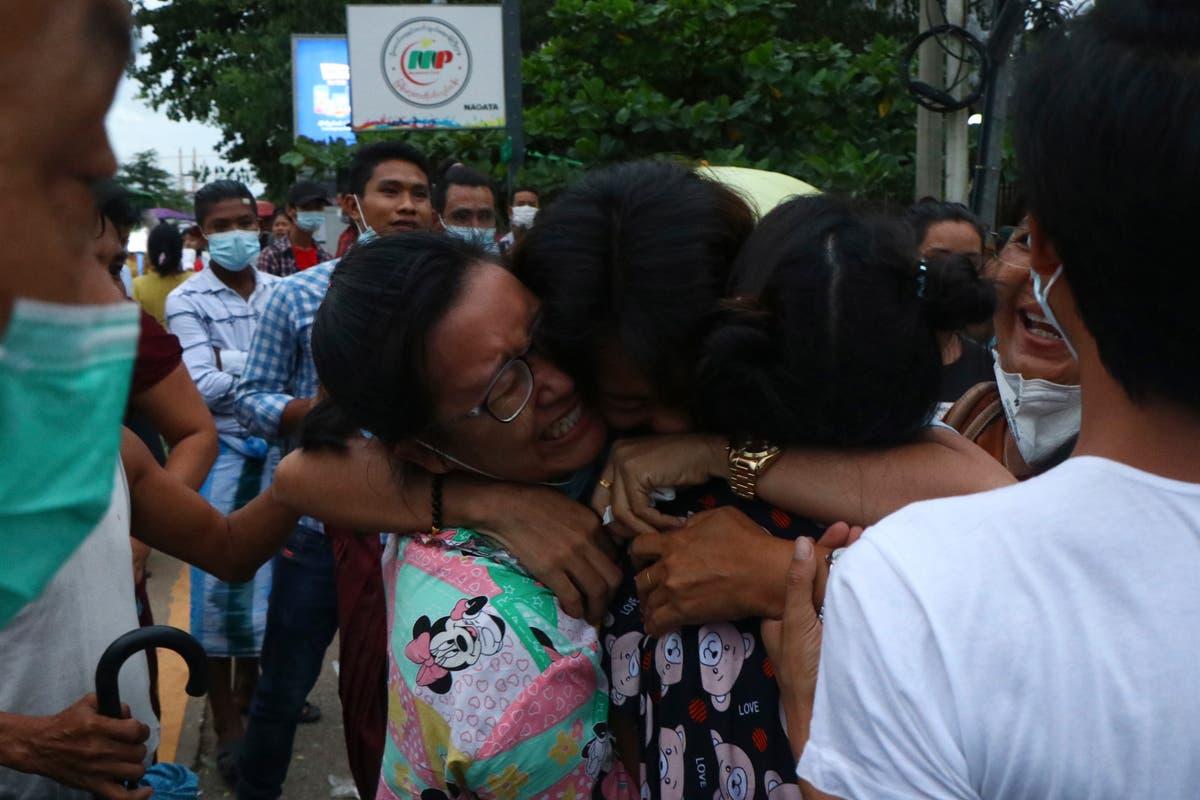 Activists, journalists included in Myanmar prisoner release