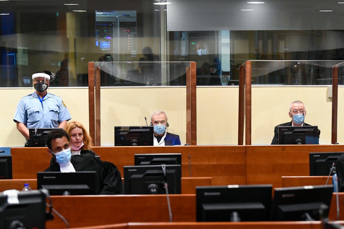UN war crimes court convicts 2 Serbs over Bosnia atrocities