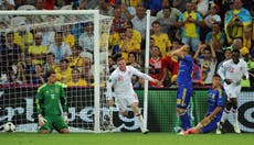England's five previous competitive meetings with Ukraine