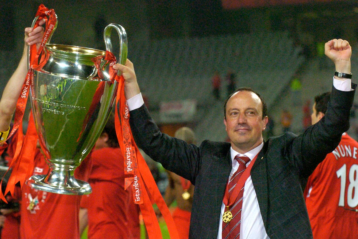 A look at managers who have crossed the divide as Rafael Benitez joins Everton
