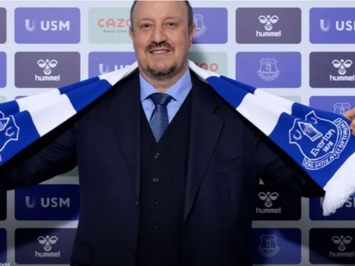 Everton confirm appointment of Rafael Benitez as manager