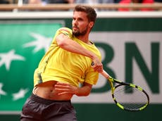 Oscar Otte: Profile, ranking and recent results of German tennis player facing Andy Murray