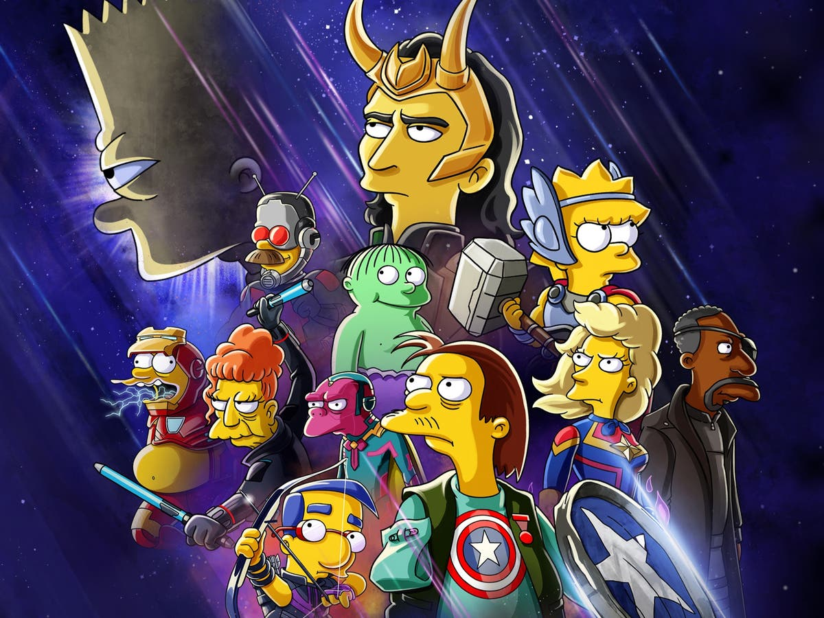 Disney Plus announces Simpsons and Avengers crossover coming next week