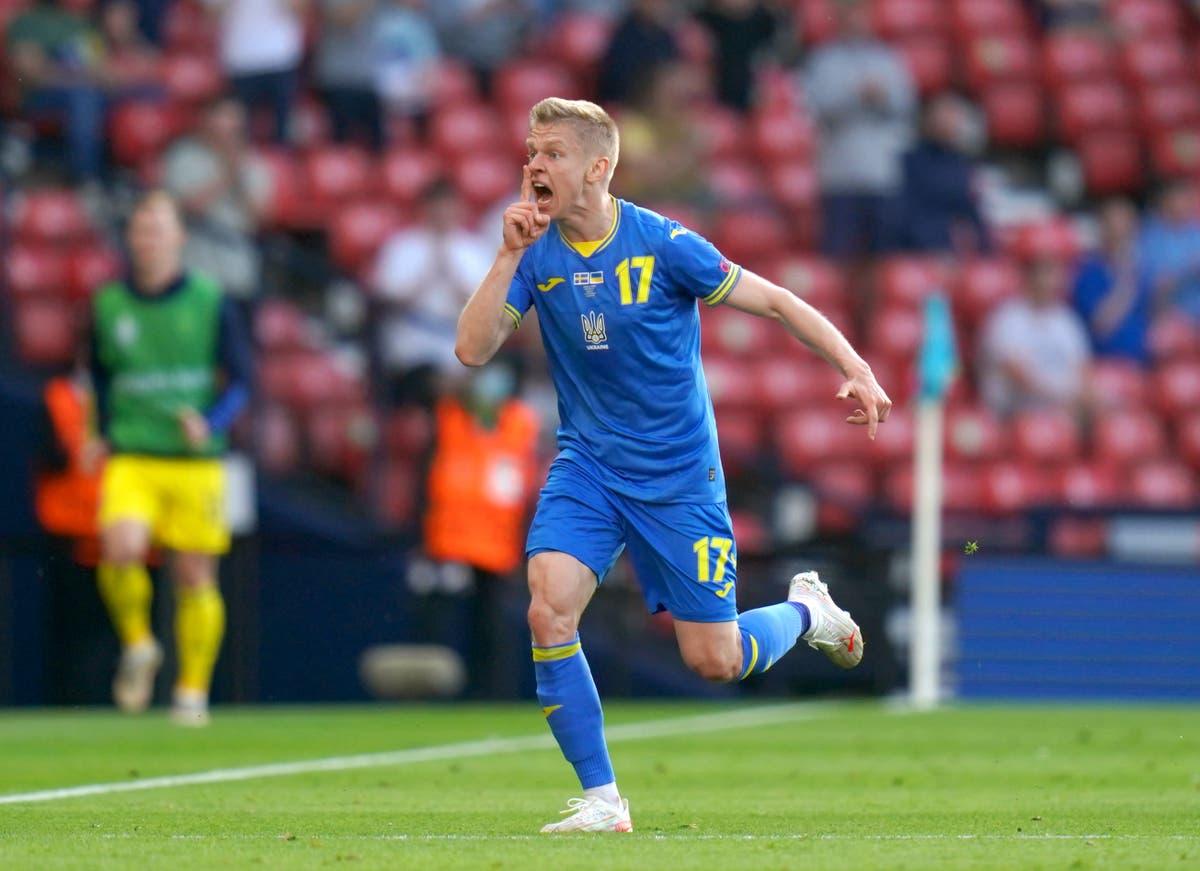 Oleksandr Zinchenko: Ukraine motivated not frightened ahead of England clash