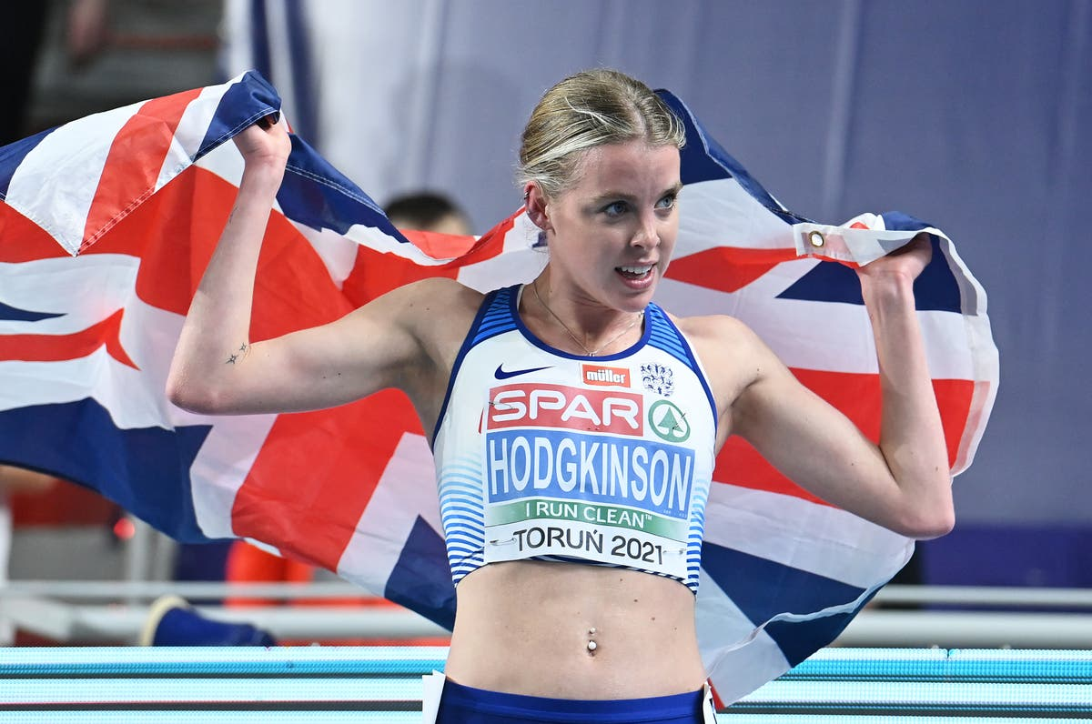 Who is Keely Hodgkinson and when is she running at Tokyo 2020?