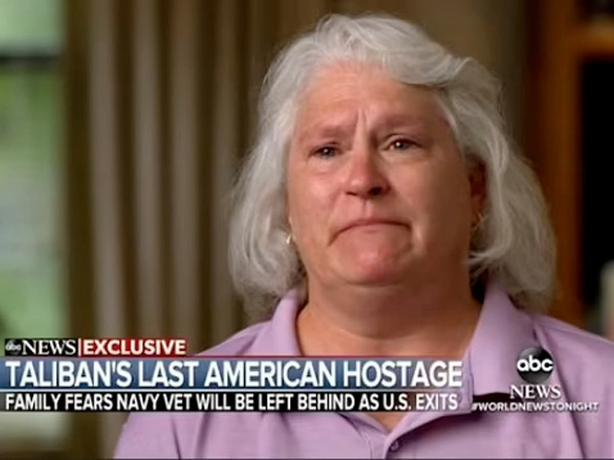 Tearful sister of US hostage begs Biden to bring him home