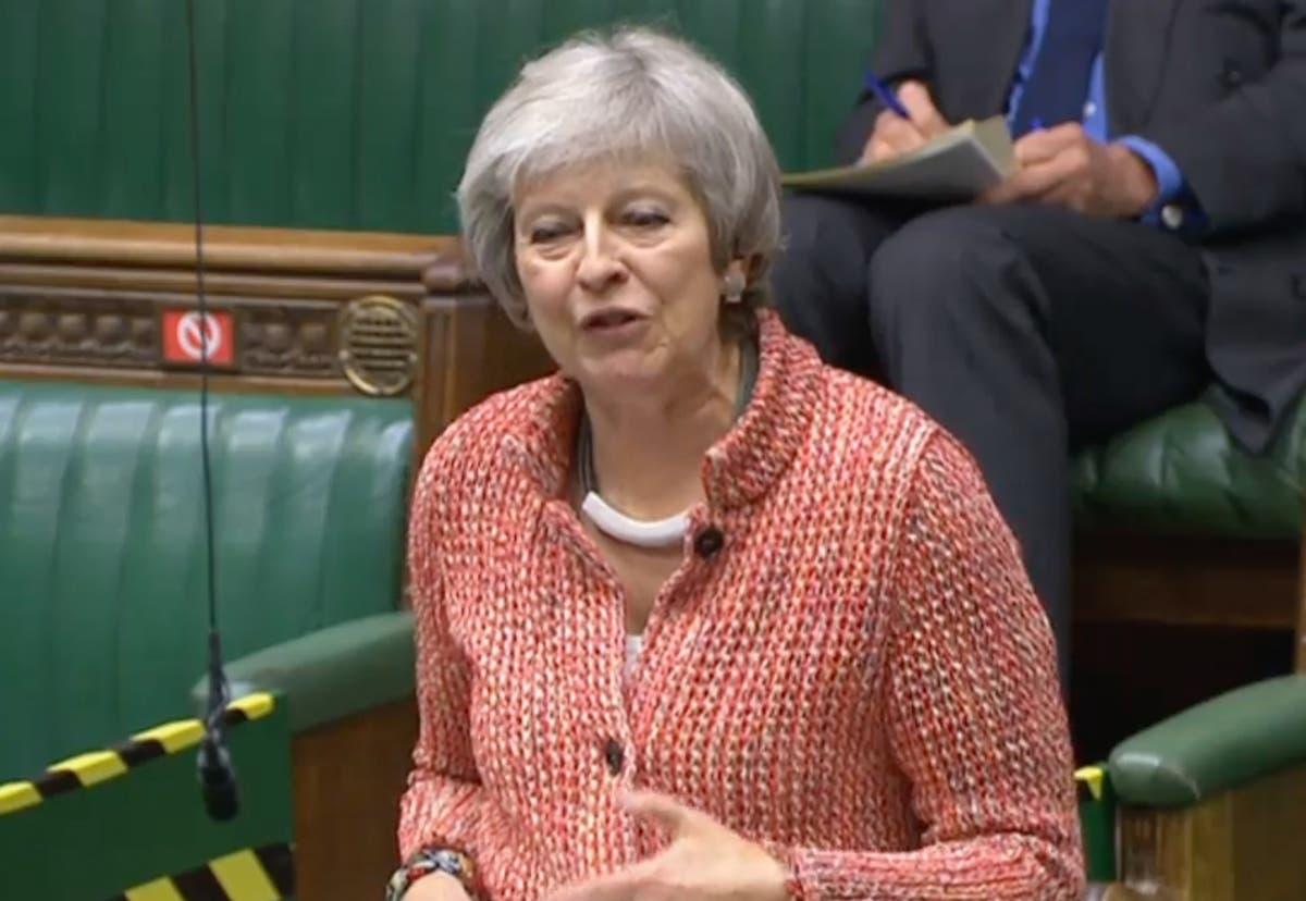 Theresa May blasts Boris Johnson for failing to create 'outward-looking' Global Britain