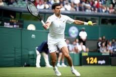 Novak Djokovic eases into third round at Wimbledon