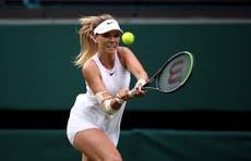 Katie Boulter gives Aryna Sabalenka a scare at Wimbledon