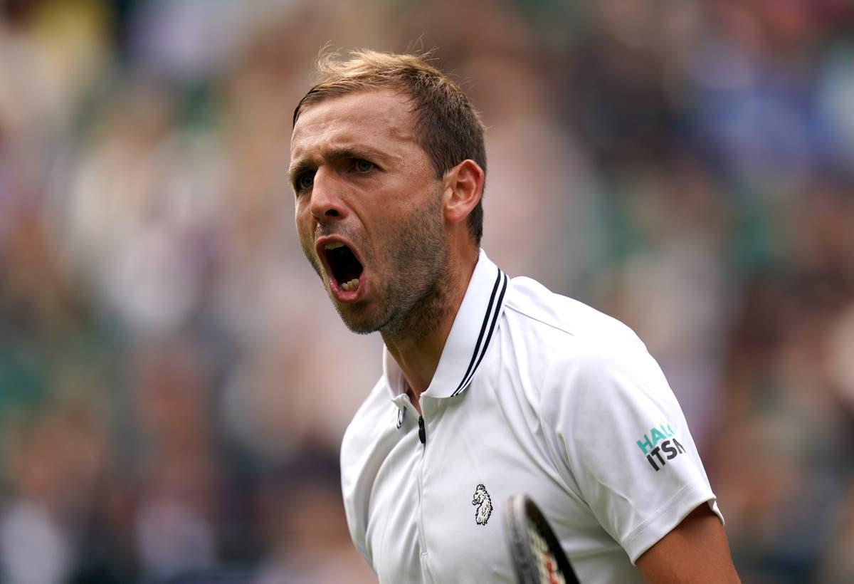 Dan Evans cruises into round three to equal best Wimbledon run