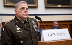 Trump calls on Mark Milley to resign after top US military officer thrust into 'critical race theory' debate