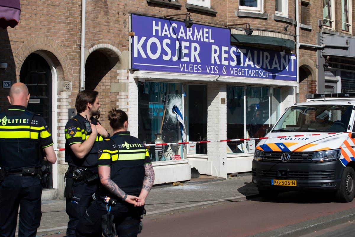 'Terrorist intent' alleged in Dutch restaurant vandalism
