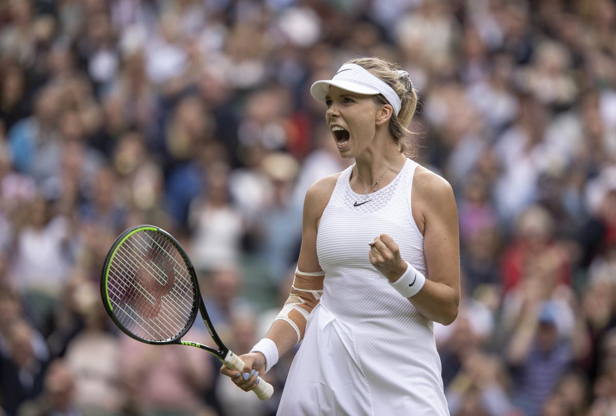 Katie Boulter has 'no regrets' after pushing second seed Aryna Sabalenka