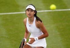 Emma Raducanu wins on Wimbledon debut as Vitalia Diatchenko beaten