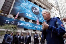 Branson mum on when he'll launch to space on Virgin Galactic