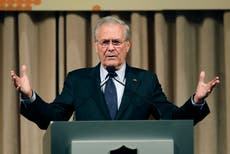 Donald Rumsfeld death: Bush Defense chief who oversaw Afghanistan and Iraq invasions dies at 88